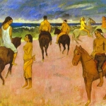gauguin_riders